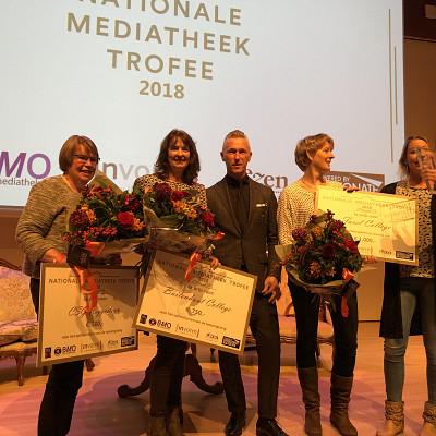 Uitslag nominatie Nationale Mediatheek Trofee
